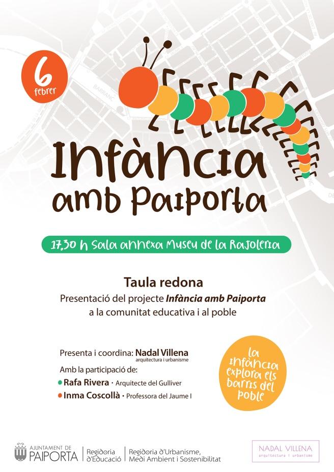 6 febrer _ INFÀNCIA AMB PAIPORTA